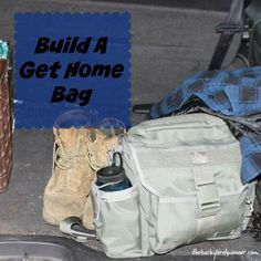 A great project for common sense preparedness is setting up a Get Home Bag. You just need to look at the news to see several times a year, where due to natural or man made disasters people are forced to wait out a cold and uncomfortable night in their car, or need to abandon their vehicles and hoof it home.