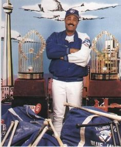 Cito Gaston - 2 World Series Pennants with The Toronto Blue Jays. Best Baseball Player, Sports Baseball, Baseball Teams, Baseball Stuff, Blue Jay Way, Go Blue, Blue Jays World Series, Baseball Toronto, Mlb Teams