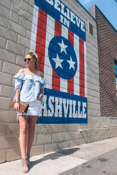 Stripes Across Nashville   Style in a Small Town