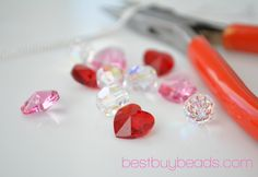 EverReena Beads Broken Open Valentine HeartRose Gold Key Wings Charm for Silver Bracelets
