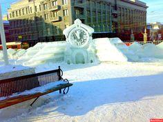 Суровый Челябинск и зимняя сказка