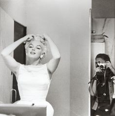 Marilyn Monroe & Clark Gable on the set of 'The Misfits' photographed by Eve Arnold, 1961. Description from backoffice.tumblr.com. I searched for this on bing.com/images