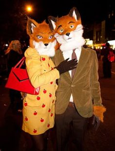 Fantastic Mr. Fox Wes Anderson Costumes!