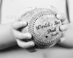 Personalized Gift for Dad - 5x7 to 20x24 (price varies) Baseball Print - From Kids - Sports Decor on Etsy, $17.00
