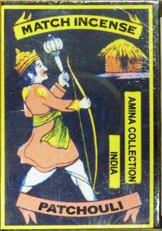 Indian Match Incense Cones : Patchouli x 20 | eBay