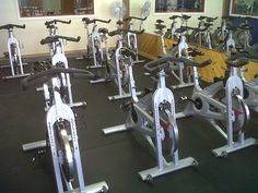I love the fast pace and adrenaline of a spin class!