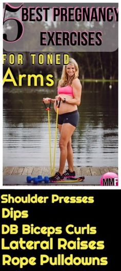 Do 3 sets of these pregnancy exercises for 20 reps to help you not have flabby arms during pregnancy.  This is a super safe and effective pregnancy workout for the upper body and arms. Lots of great pregnancy diet and exercise tips in this blog.  Click on this link to get another Pregnancy Arms Workout with more details.  http://michellemariefit.publishpath.com/tone-the-arms-pregnancy-workout
