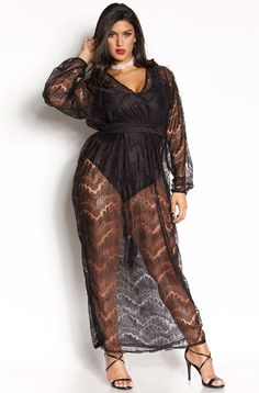 "Rebdolls ""Take My Love Away"" Lace Gown"