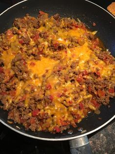 Bacon Cheeseburger Skillet- 21 Day Fix Approved