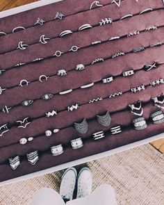 Necklaces – Page 10 – Finest Jewelry Hand Jewelry, Simple Jewelry, Cute Jewelry, Jewelry Box, Silver Jewelry, Nail Accessories, Fashion Accessories, Fashion Jewelry, Cute Rings