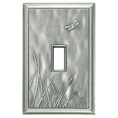 Dragonfly Decorative Magnetic Single Toggle Wall Plate | RQ Home