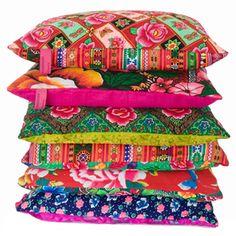 patchwork cushions 40x40 cm