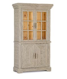 La Lune Salutes the 2016 Color of the Year: Simply White! (La Lune Collection Hutch w/Glass Doors #2066)