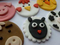 Fondant Cake Decoration Farmyard Animal by TheCakeTopCompany, £7.95