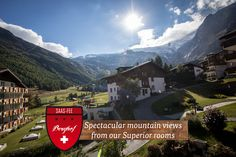 Saas Fee, Superior Room, Mountain View, Nature, Travel, Naturaleza, Trips, Viajes, Traveling