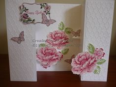 We love the gorgeous roses on Ann Will's dynamic card.