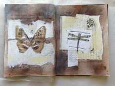 caterinagiglio: August Art Journal Pages and a Fall Break
