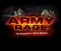 Army Rage Ad and UI Elements by Tsvetan Velichkov, via Behance
