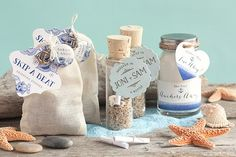 Cute Nautical and Beach Theme Favor Ideas