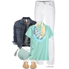 Minty Spring, created by archimedes16 on Polyvore
