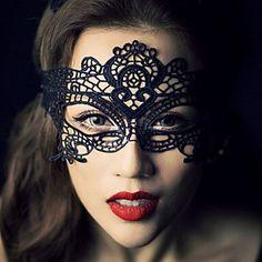 handgemaakte europese vintage gotische stijl kanten dans masker – EUR € 6.35