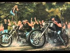 Biker Brotherhood with David Mann Art
