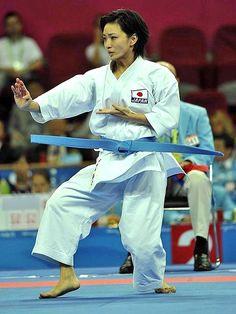 Rika Usami / karate expert