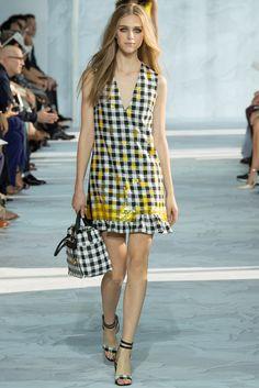 Diane von Furstenberg Spring 2015 Ready-to-Wear Fashion Show - Model Hedvig Palm