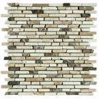 Nerva Stone 12 in. x 12 in. Natural Stone Floor & Wall Tile Mosaic