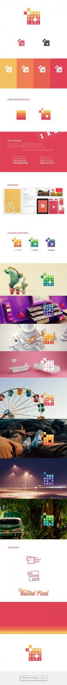The Rusted Pixel - twenty fifteen rebrand