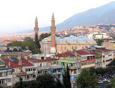 ღღ Mosque Ulu Cami Bursa, Turkey