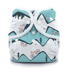 Duo Wrap Cloth Diaper Cover* - Pliable, breathable ultra-comfortable waterproof fabric - Wipe wrap clean between diaper changes - Trim fit - Leg gussets for advanced leak protection - Grows with your