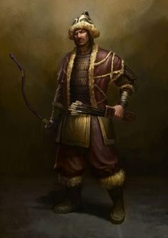 Ancient Turkish Warrior