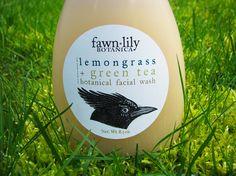Lemongrass & Green Tea Facial Wash Made with Botanical Ingredients