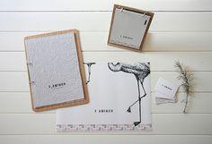 Flamingo menu by Ákos Sarkadi-Tóth