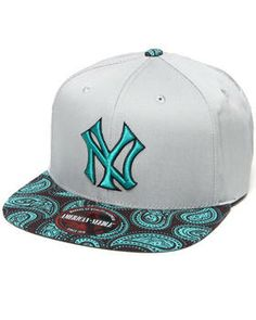 Buy New York Yankees Teal Paisley Strapback Hat (Drjays.com Exclusive) Men's Accessories from American Needle. Find American Needle fashions & more at DrJays.com