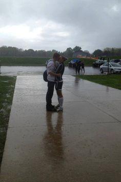 Rain Kisses (ME) Romantic Kisses, Kiss Me, Rain, Rain Fall, Kiss, Waterfall