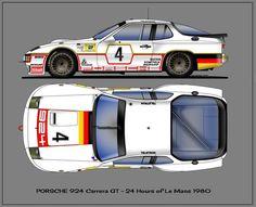 Porsche 924 Carrera GT: