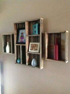 Pallet Wall Shelves Ideas