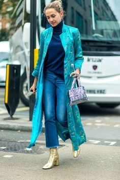 Confira os looks de moda rua direto da Semana de Moda de Londres!
