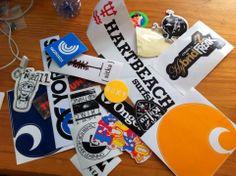 sticker collectie