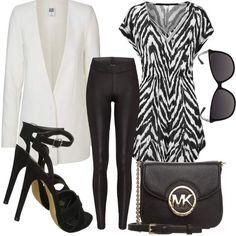 Zebra #fashion #mode #look #outfit #style #stylaholic #sexy #dress