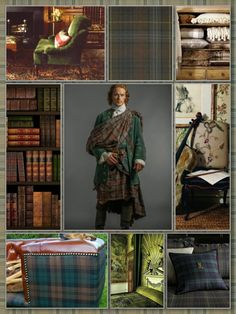 """""""Silver Screen Surroundings: Outlander S1E7: The Wedding"""" -- If you like the look of STARZ's """"Outlander"""" series, click through to see how Claire and Jamie's wedding costumes serve """"as inspirations for beautiful interior details."""" See inspirations from other episodes here: http://decor10blog.com/tag/outlander"""