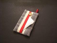 CAS de tissu  tissu gris  couverture de tissu gris  tissu Thank You For Order, Cover Gray, Wool Socks, Bias Tape, Tissue Holders, Teacher Gifts, Pattern Design, Cotton Fabric, Handkerchiefs
