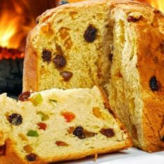 Italian Christmas Cake, Junk Food, Banana Bread, Cravings, Nom Nom, Food And Drink, Gluten, Yummy Food, Cookies