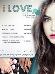 i love Betina Beauty Studio