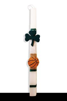 Handmade Easter Candle lambada Panathinaikos by metixera on Etsy