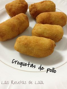 Mis croquetas de pollo. Latin American Food, Latin Food, Spanish Dishes, Spanish Food, Peruvian Recipes, Mexican Food Recipes, Mediterranean Recipes, Appetizers For Party, Tasty Dishes