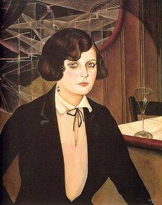 Antonio Donghi ''Signorina'' 1927