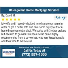 My wife and I recently decided to refinance our home in order to get a better rate and...